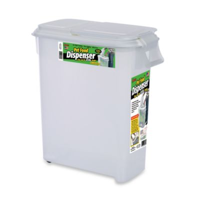 Buddeez® Roll Away 50-Quart Pet Food Dispenser
