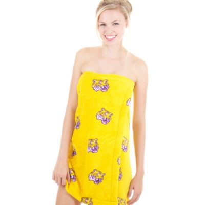 Louisiana State University Ladies Spa Wrap - Extra Large