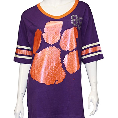 Clemson University Medium Tunic in Purple