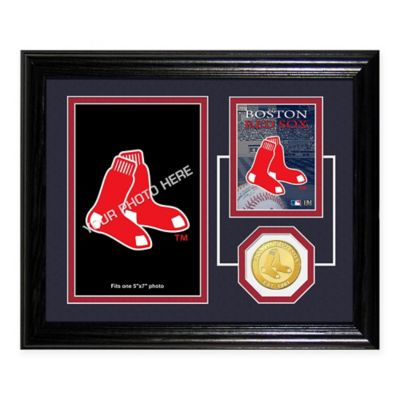 Fenway Park Fan Memories Desktop Photo Mint Frame