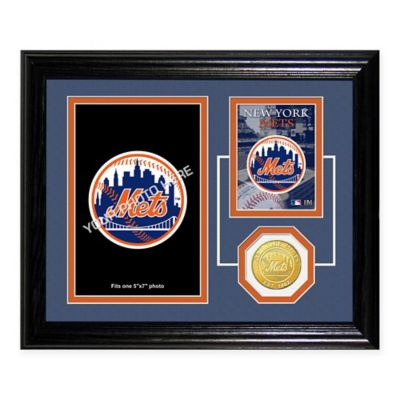Citi Field Fan Memories Desktop Photo Mint Frame