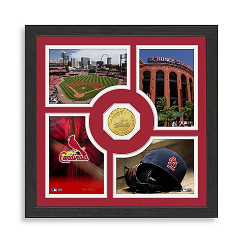 St. Louis Cardinals Fan Memories Minted Coin Photo Frame