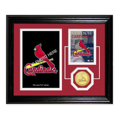 Busch Stadium Fan Memories Desktop Photo Mint Frame