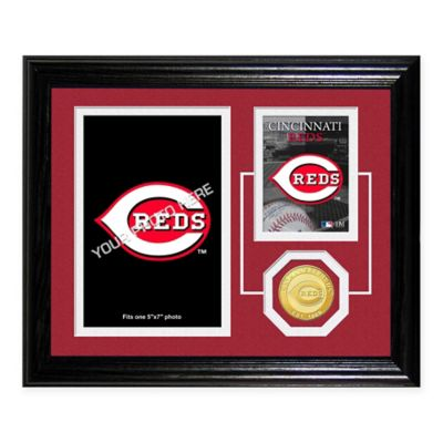 Great American Ball Park Fan Memories Desktop Photo Mint Frame