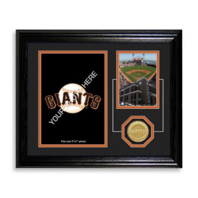 AT&T Park Fan Memories Desktop Photo Mint Frame