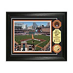 Baltimore Orioles MLB Stadium Dirt Coin Photo Frame