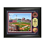 Boston Red Sox MLB Stadium Dirt Coin Photo Frame