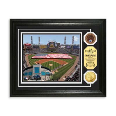 Chicago White Sox MLB Stadium Dirt Coin Photo Frame