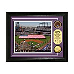 Colorado Rockies MLB Stadium Dirt Coin Photo Frame