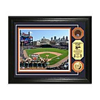 Detroit Tigers MLB Stadium Dirt Coin Photo Frame