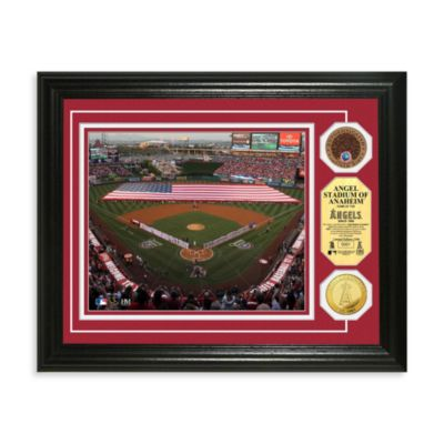 Los Angeles Angels MLB Stadium Dirt Coin Photo Frame