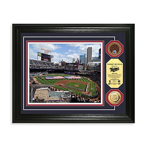 Minnesota Twins MLB Stadium Dirt Coin Photo Mint Frame