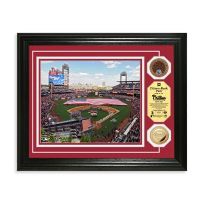 Philadelphia Phillies MLB Stadium Dirt Coin Photo Frame