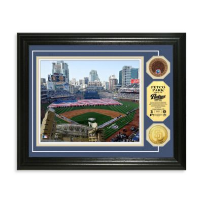 San Diego Padres MLB Stadium Photo Coin Frame