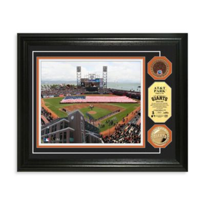 San Francisco Giants MLB Stadium Dirt Coin Photo Frame