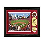 St. Louis Cardinals MLB Stadium Dirt Coin Photo Frame