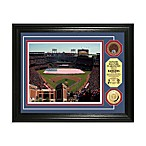 Texas Rangers MLB Stadium Dirt Coin Photo Frame