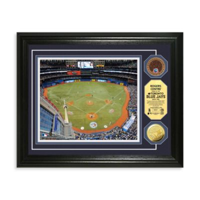 Toronto Blue Jays 13-Inch x 16-Inch MLB Stadium Dirt Coin Photo Frame