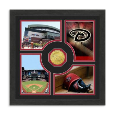Arizona Diamondbacks Fan Memories Minted Bronze Coin Photo Frame