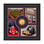 Boston Red Sox Fan Memories Minted Bronze Coin Photo Frame
