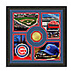 Chicago Cubs Fan Memories Minted Bronze Coin Photo Frame