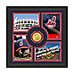 Cleveland Indians Fan Memories Minted Bronze Coin Photo Frame