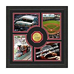 Houston Astros Fan Memories Minted Bronze Coin Photo Frame