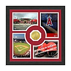 Los Angeles Angels of Anaheim Fan Memories Minted Bronze Coin Photo Frame