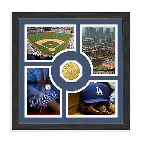 Los Angeles Dodgers Fan Memories Minted Bronze Coin Photo Frame