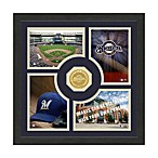 Milwaukee Brewers Fan Memories Minted Bronze Coin Photo Frame