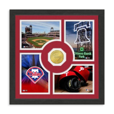 Philadelphia Phillies Fan Memories Minted Bronze Coin Photo Frame