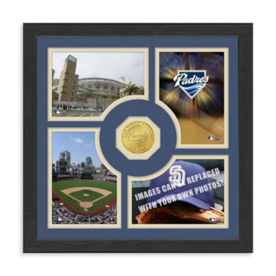 San Diego Padres Fan Memories Minted Bronze Coin Photo Frame
