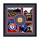 Texas Rangers Fan Memories Minted Bronze Coin Photo Frame