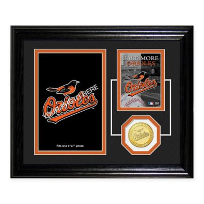 Baltimore Orioles Fan Memories Desktop Photo Mint Frame