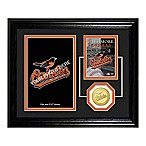 Baltimore Orioles Fan Memories Desktop Photo Mint Frame