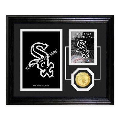 Chicago White Sox Fan Memories Desktop Photo Mint Frame