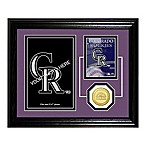 Colorado Rockies Fan Memories Desktop Photo Mint Frame
