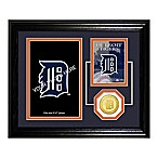Detroit Tigers Fan Memories Desktop Photo Mint Frame