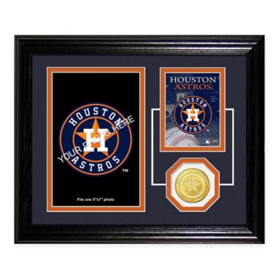 Houston Astros Fan Memories Desktop Photo Mint Frame