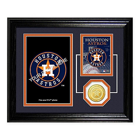 Houston Astros Fan Memories Desktop Photo Mint Frame