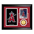 Los Angeles Angels of Anaheim Fan Memories Desktop Photo Mint Frame