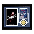 Los Angeles Dodgers Fan Memories Desktop Photo Mint Frame
