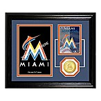Miami Marlins Fan Memories Desktop Photo Mint Frame