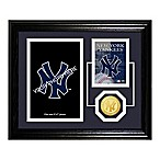 New York Yankees Fan Memories Desktop Photo Mint Frame