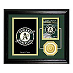 Oakland Athletics Fan Memories Desktop Photo Mint Frame