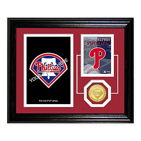 Philadelphia Phillies Fan Memories Desktop Photo Mint Frame