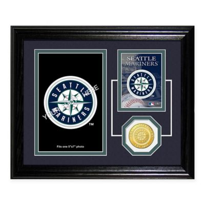 Seattle Mariners Fan Memories Desktop Photo Mint Frame