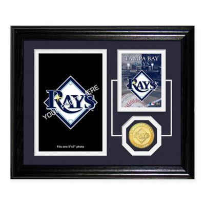 Tampa Bay Rays Fan Memories Desktop Photo Mint Frame