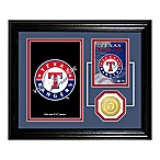 Texas Rangers Fan Memories Desktop Photo Mint Frame