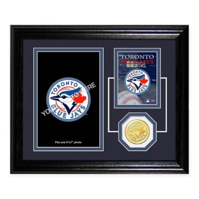 Toronto Blue Jays Fan Memories Desktop Photo Mint Frame